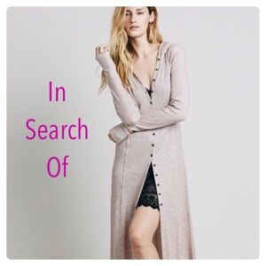 ISO WANTED Free People SUNDAY KIND OF LOVE ROBE XS